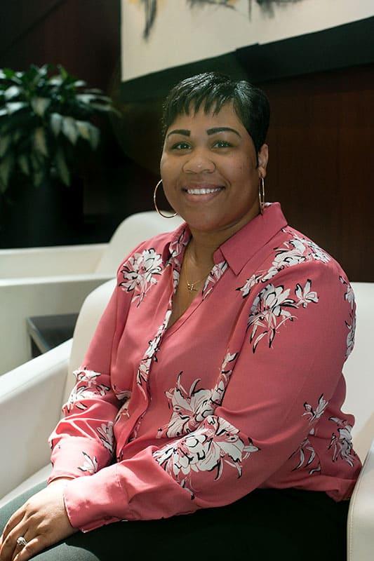 Rameika Payne, Receptionist