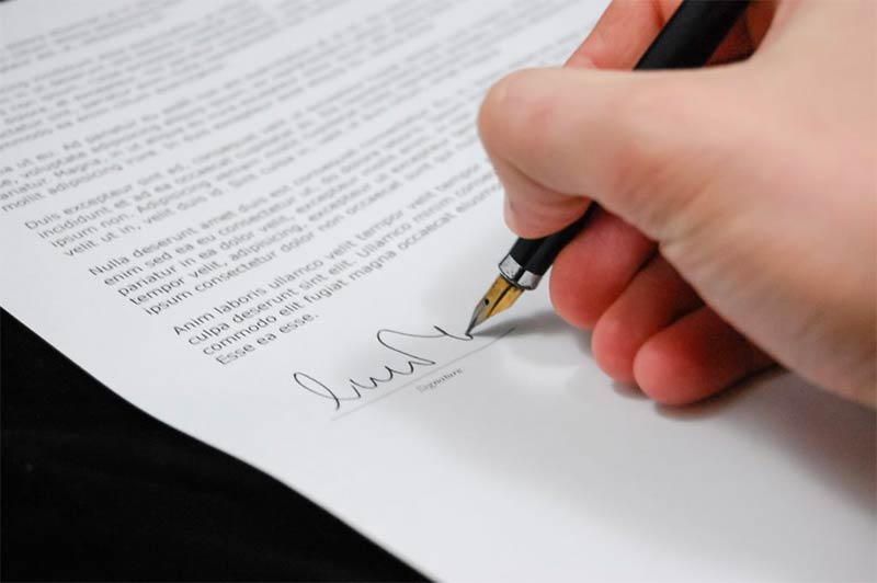 Executing a Will